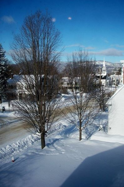 Bethel Village Winter (Danna Brown Nickerson)